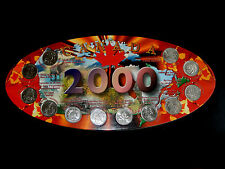 2000 Canada Special 12 Month 25 Cent Coin Collection  SBC2000