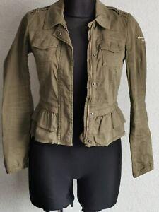 Abercrombie & Fitch kids girls khaki summer jacket size 12/13 years L