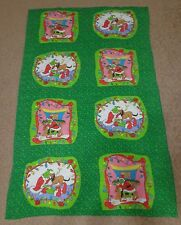 How The Grinch Stole Christmas Green Blanket Throw Reversible 64 x 41