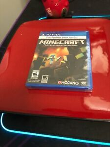 Minecraft PlayStation PS Vita Edition PlayStation Vita Brand New Sealed RARE US