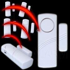 6 x Tür Fensteralarm DRAHTLOS Bewegungsmelder Magnetalarm für Türen und Fenster