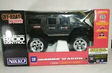 Nikko Hummer H1 Off Road Rare Vintage remote Control battery and battery charger