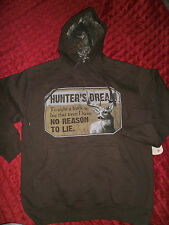 REALTREE RANGER OUTDOOR APPAREL BROWN  HOODIE