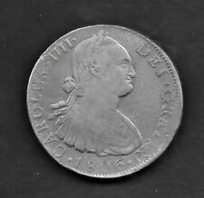 1806 Mexico Charles IV Spanish Colonial Silver 8 Reales  Coin KM # 109