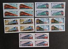 Russia 1982 Locomotives SG5229/33 train railway Block 4 MNH UM unmounted mint x