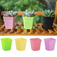 10X Plant Pot Cover Indoor Plastic Rattan Flower Cover Round Decor Planter
