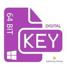 Windows 10 Professional 64 Bit OEM digitaler Aktivierungsschlüssel Product Key