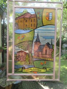 Bleiverglasung ,Glasbild,Fenster,Glas,Bleiglas,Bild von Niederkrüchten NRW