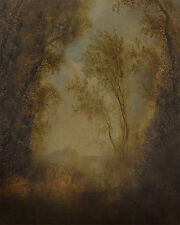 9' x 16' Hand-Painted Canvas Scenic/Old Master Photo Backdrop Background 33-248