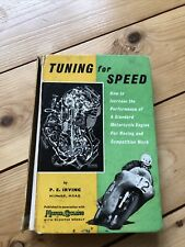 Tuning for Speed by P.E. Irving - Motorcycle Performance Race Tuning Manual