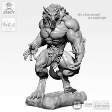 1/24  Figure Sets Giant Monster Werewolf Scale Resin Figure Model