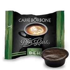 100 capsule caffè BORBONE miscela DEK Lavazza a Modo Mio decaffeinato cialde