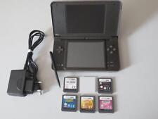 ETAT NEUF: Console Nintendo DSi XL Brune + 8 Jeux Star Wars, Street 2, Fantasy 3