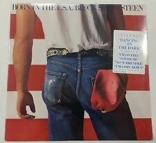 VTG BRUCE SPRINGSTEEN Sealed BORN IN THE USA LP w/Hype Stkr 1st Press QC38653