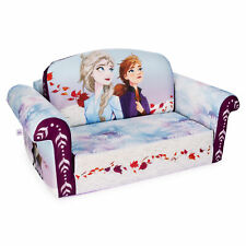 Marshmallow Furniture, Children's 2-in-1 Flip Open Foam Sofa, Frozen 2 kids