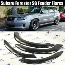 Subaru Forester Wheel Arch Protector Fender Flares Trim Kit SG PAINTABLE 6 PCS