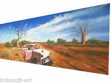 "83"" original inspired art painting landscape By jane crawford  from Australia"