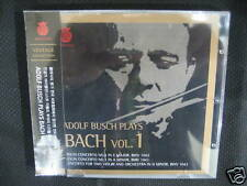 Adolf Busch Plays Bach Vol. 1 (I) korea cd new