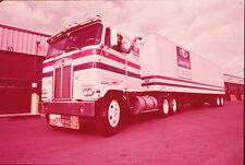 1972 Amway Cab Over Engine Truck & Trailer - Original 35mm Slide
