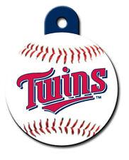 Engraved MLB Minnesota Twins Pet ID Tag fast ssh