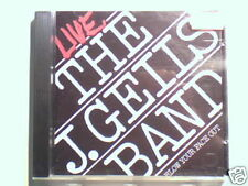 J.GEILS BAND Live blow your face out cd GERMANY