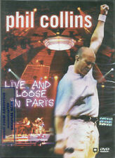 DVD PHIL COLLINS LIVE AND LOOSE IN PARIS SEALED NEW