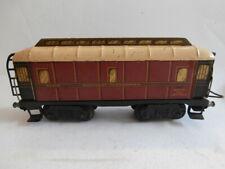 JEP échelle O 1935 wagon postal PTT bogies Hornby LR