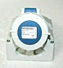 Mennekes 9301RS IP67 Blue Wall Mount 2P+ Industrial Power Socket