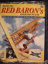 Costruire il rosso BARONI Fighter Plane / Fokker Dr. 1-MODELLO 1:8 - fascicolo 27 SIGILLATO