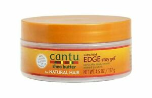 CANTU NATURAL HAIR EDGE STAY GEL EXTRA HOLD 4.5 oz / 127 gm