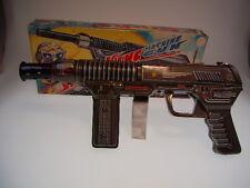 "GSR ROBOT ""Space King Machine Gun"", exelo japón, all tin, 30cm, like newnbox!"