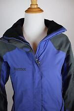Marmot Womens Winter Jacket Size M Medium Blue with Hood Coat