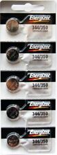 10PC Energizer 344 Silver Oxide Watch Battery