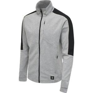 HUMMEL Tropper Zip Jacket    Herren-Sweatjacke   Grau   NEU
