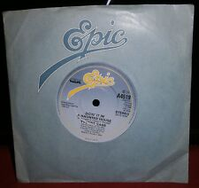 "YVONNE GAGE DOIN' IT IN A HAUNTED HOUSE A 4519 1984 EPIC RECORDS 7"" INCH VINYL"