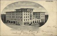 Tucson AZ Santa Rita Hotel c1905 Postcard