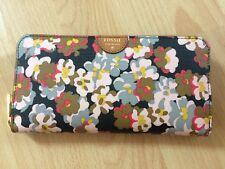 Geldbörse/ Portemonnaie von FOSSIL Modell Dark Floral *Neu*
