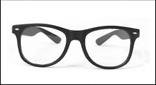 Men Women Classic Geek Nerd Clear Lens Glasses Unisex Fashion Candy Color Frame