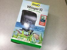 Tetra Whisper IQ Power Filter 10 Gallons 105 GPH Stay Clean Technology New Open