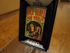 BOB MARLEY SOUL REBEL ZIPPO LIGHTER MINT IN BOX