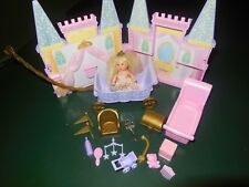 KRISSY PRINCESS PALACE BARBIE NURSERY SOUND CASTLE SISTER ROYAL MATTEL 2003 LOT