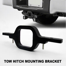 TOW HITCH MOUNTING BRACKET TOW BAR  MOUNT REVERSE LED WORK LIGHT BAR SUV 4WD