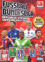 Topps Bundesliga 2014 2015 10 Sticker aus allen aussuchen Choose Pick Panini