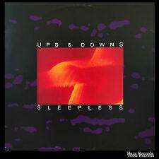 UPS & DOWNS Sleepless EP with Inner sleeve. RARE
