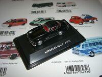 MERCEDES BENZ 300 SL noir SCHUCO / WELLY 1:87 452800400
