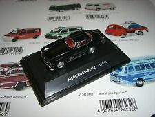 MERCEDES Benz 300 SL NERO SCHUCO/Welly 1:87 452800400