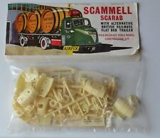 Vintage Airfix Bagged Kit HO / OO 4mm Gauge / Scale Trackside Scammell Scarab