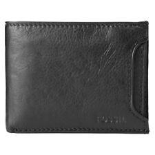ML3288001 NEW Fossil Genuine Black Leather Lincoln Bifold 2in1 Men's Wallet £45