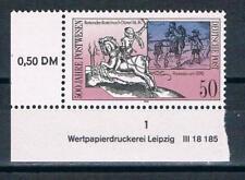 DDR MER. nr. 3355 DV, 500 J. Int. POST connessioni in Europa (II), posta freschi!