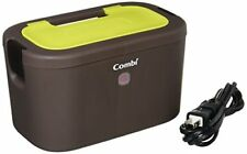Combi Baby Wipe Warm Up Quick Warmer LED + Neon Green Top Warmer System Japan